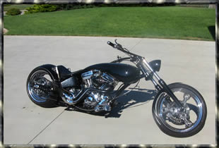 amazing custom chopper