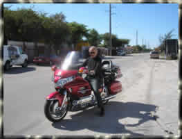 Goldwing shipped to Florida