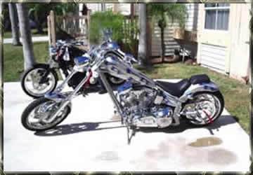 iron horse chopper shipping