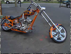 demon chopper transport