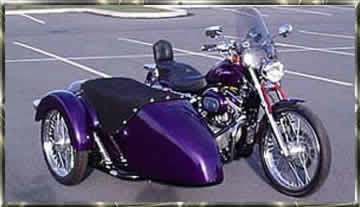 harley davidson sportster with sidecar