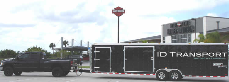 Florida motorcycle shippers equipment